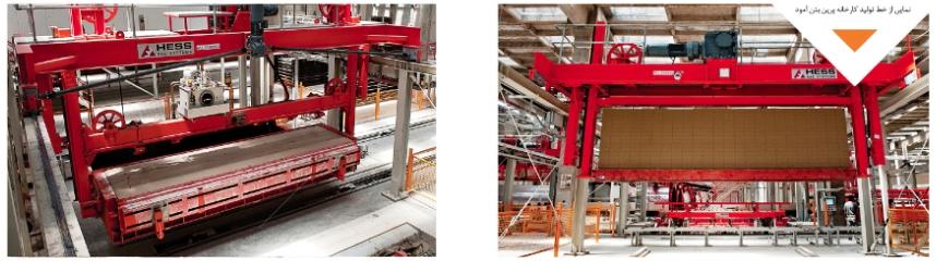 خط تولید و ماشین آلات پرین بتن